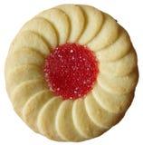 Biscuit rempli par gelée photo libre de droits