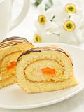Biscuit roll Royalty Free Stock Photo