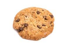 Biscuit rond de chocolat Photo stock