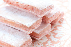 Biscuit rosé. French style biscuit rosé de reims Stock Photo