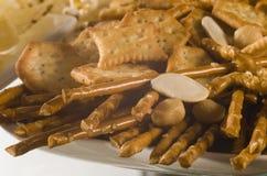 Biscuit salé photos libres de droits