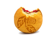 Biscuit Sandwich With Raspberry Filling Stock Image
