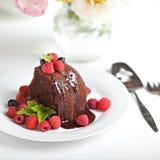 Biscuit savoureux de chocolat Image libre de droits