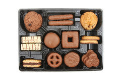 Biscuit selection Stock Image