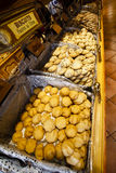 Biscuit shop. La Cure Gourmande - candy and biscuit shop, Paris, France Stock Photography