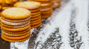 Biscuit for snack. Stock Photo