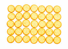 Biscuit for snack. Royalty Free Stock Image