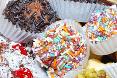 Biscuit sprinkle Stock Photos