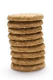 Biscuit stack Royalty Free Stock Image