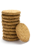 Biscuit stack Royalty Free Stock Photo