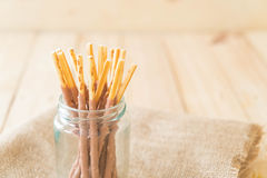 Biscuit stick Royalty Free Stock Images