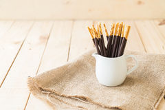 Biscuit stick Royalty Free Stock Photography