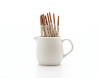 Biscuit stick with cookie and cream flavored Stock Image