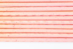 Biscuit stick strawberry Royalty Free Stock Image