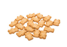 Biscuit teddy bear Stock Image