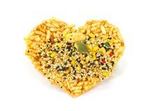 Biscuit thaïlandais de riz Photographie stock