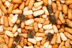 Biscuit thaïlandais de riz Photos stock