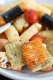 Biscuit thaïlandais de riz Photo stock