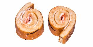 Biscuit tordu, petit pain photo stock