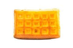 Biscuit wafers on white background Royalty Free Stock Photography
