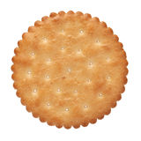 Biscuit. On a white background stock image