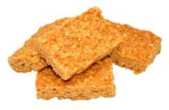 Biscuits à l'avoine d'avoine de sirop d'or Image stock