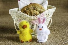 Biscuits épicés de Pâques Image libre de droits