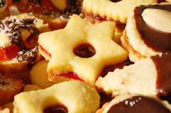 Biscuits. Close up by christmas biscuits Stock Photo