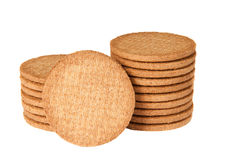 Biscuits. Against a white background Royalty Free Stock Photo