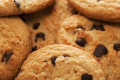Biscuits. Bunch of cookies background, small depth of field Royalty Free Stock Photography