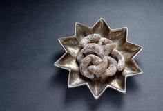 Biscuits allemands de Noël Image libre de droits