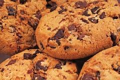 Biscuits américains Texture de biscuits Papier peint américain de modèle de fond de biscuit de style pour tout concept Chocolat e Photos stock