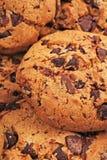 Biscuits américains Texture de biscuits Papier peint américain de modèle de fond de biscuit de style pour tout concept Chocolat e Photos libres de droits