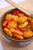 Biscuits asiatiques de riz Photographie stock libre de droits