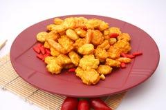 Biscuits asiatiques de riz Images stock