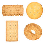 Biscuits assortis Image libre de droits