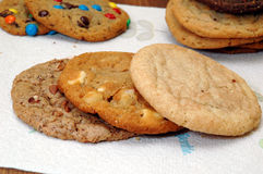 Biscuits assortis Photo stock