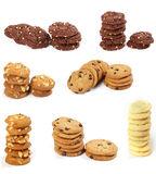 Biscuits assortis Photo stock