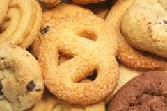 Biscuits assortis Image stock