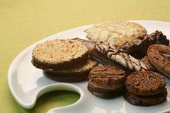 Biscuits assortis de Noël Images stock