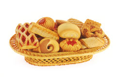 Biscuits assortment Stock Photography