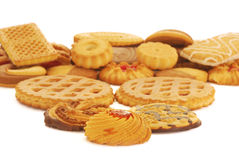 Biscuits assortment Stock Photo