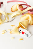 Biscuits avec amour Photo libre de droits