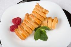 Biscuits avec des baies Photos libres de droits