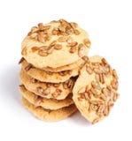 Biscuits avec des graines Photo stock