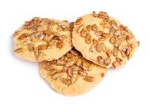 Biscuits avec des graines Photos stock