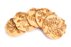 Biscuits avec des graines Photographie stock