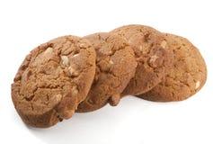Biscuits avec des noix images stock