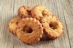 Biscuits avec des noix photographie stock libre de droits