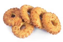Biscuits avec des noix photos stock